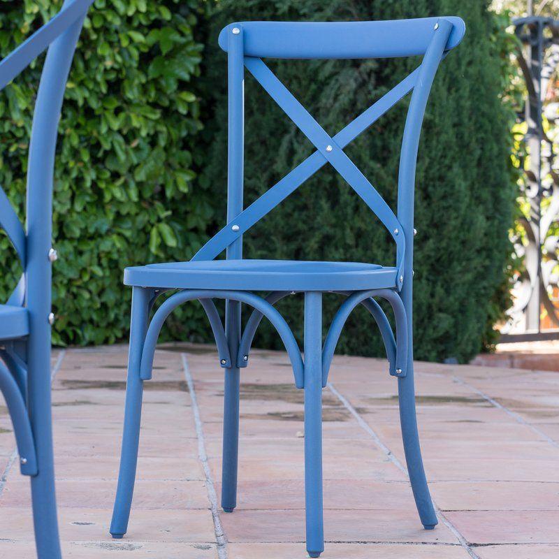 Blakemore vintage style patio dining chair patio dining