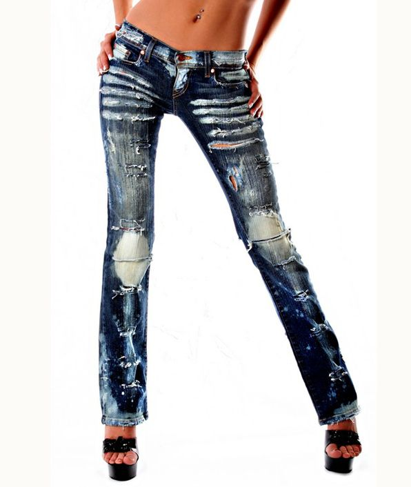 Destroyed Jeans For Women - Is Jeans
