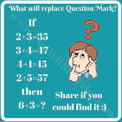 Mathematical Logical Puzzles for Kids and Teens | Pinterest | Math ...
