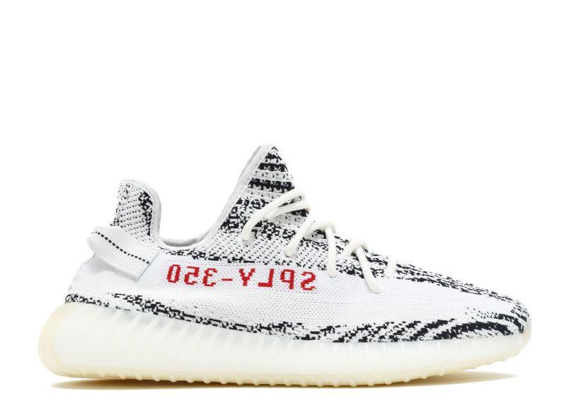 adidas Yeezy Boost 350 V2 Zebra WhiteCBLACKRED Trainer