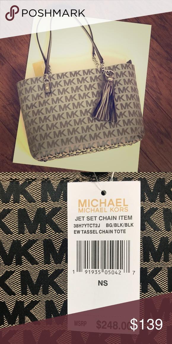 Michael Kors Jets Set Tassel Bag Original Handbag Brand New With Tags Bags Shoulder
