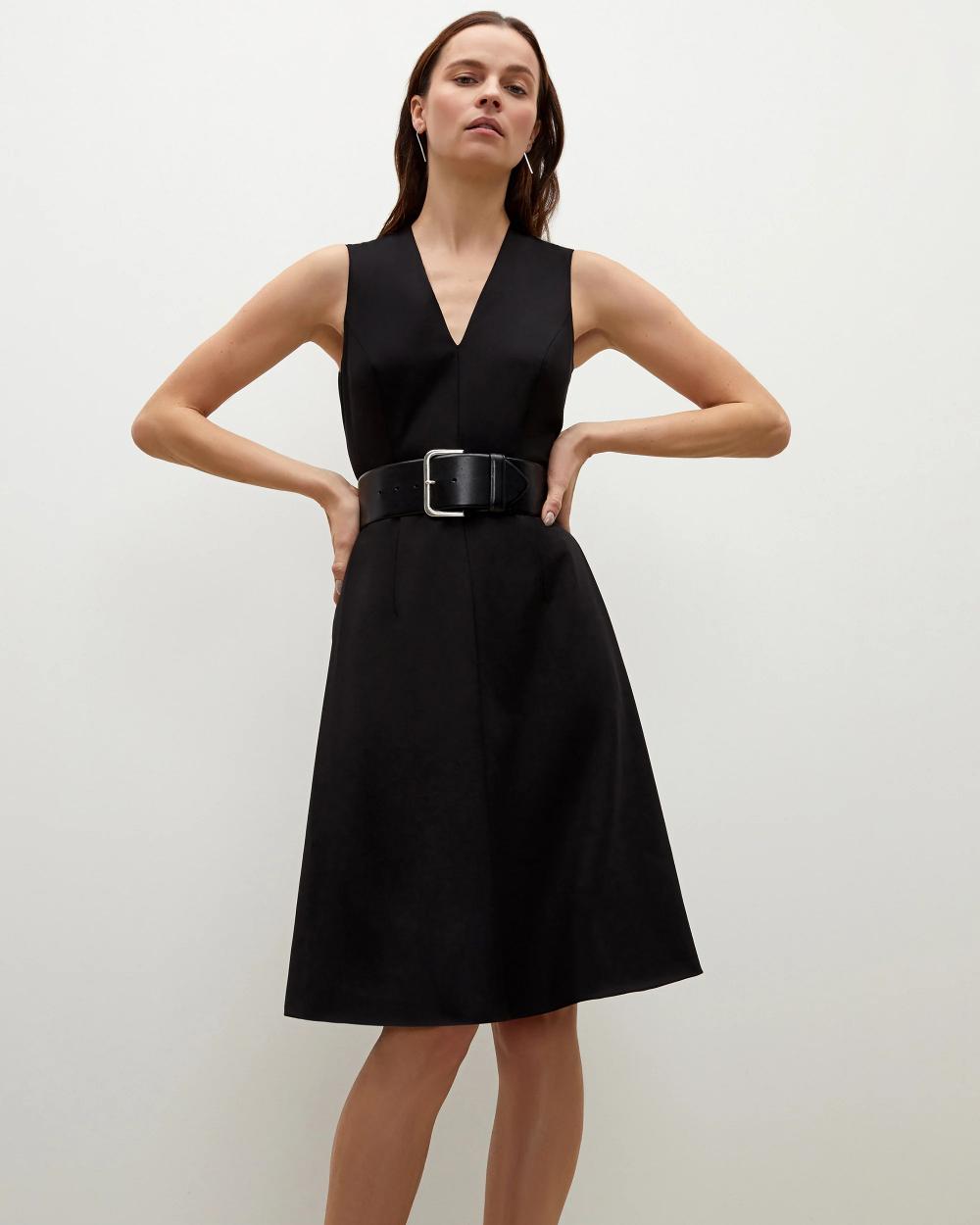 The Beebe Belt Black M M Lafleur Black Dress Outfits Dresses Black Dress Outfit Casual [ 1250 x 1000 Pixel ]
