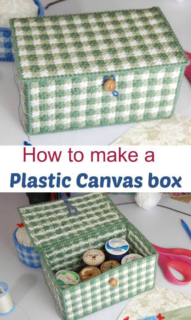 Acrylic Box Tutorial : Plastic canvas box tutorial ideal beginners