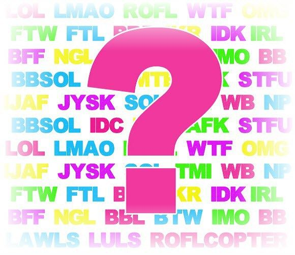 What is the Meaning of wtf, lmao, rofl, afk, & Other Chat Words?