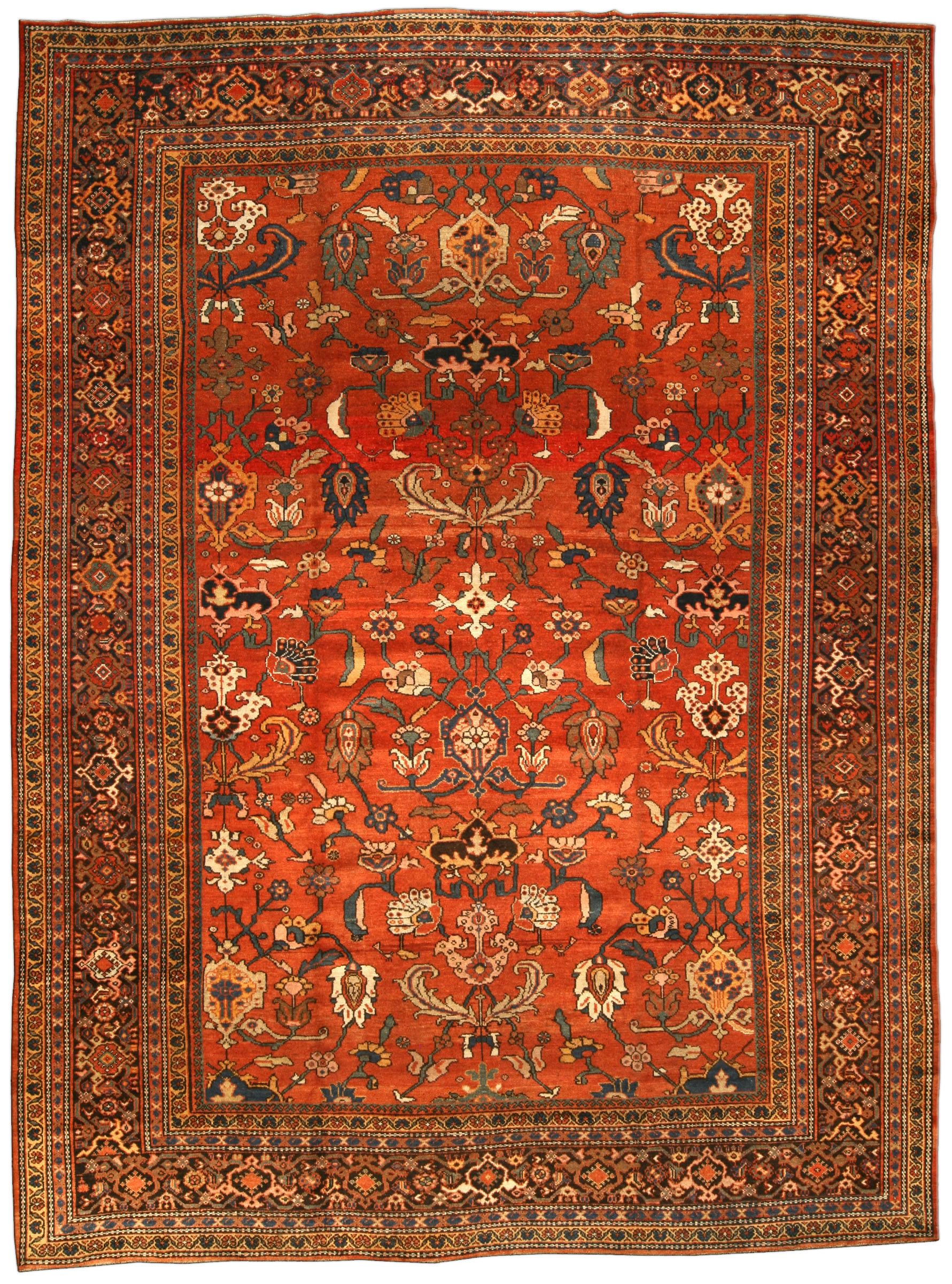 Carpets Persian: types and features of choice