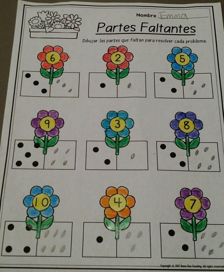 Paquete de matematicas y lectura para abril (Spanish April Math and ...