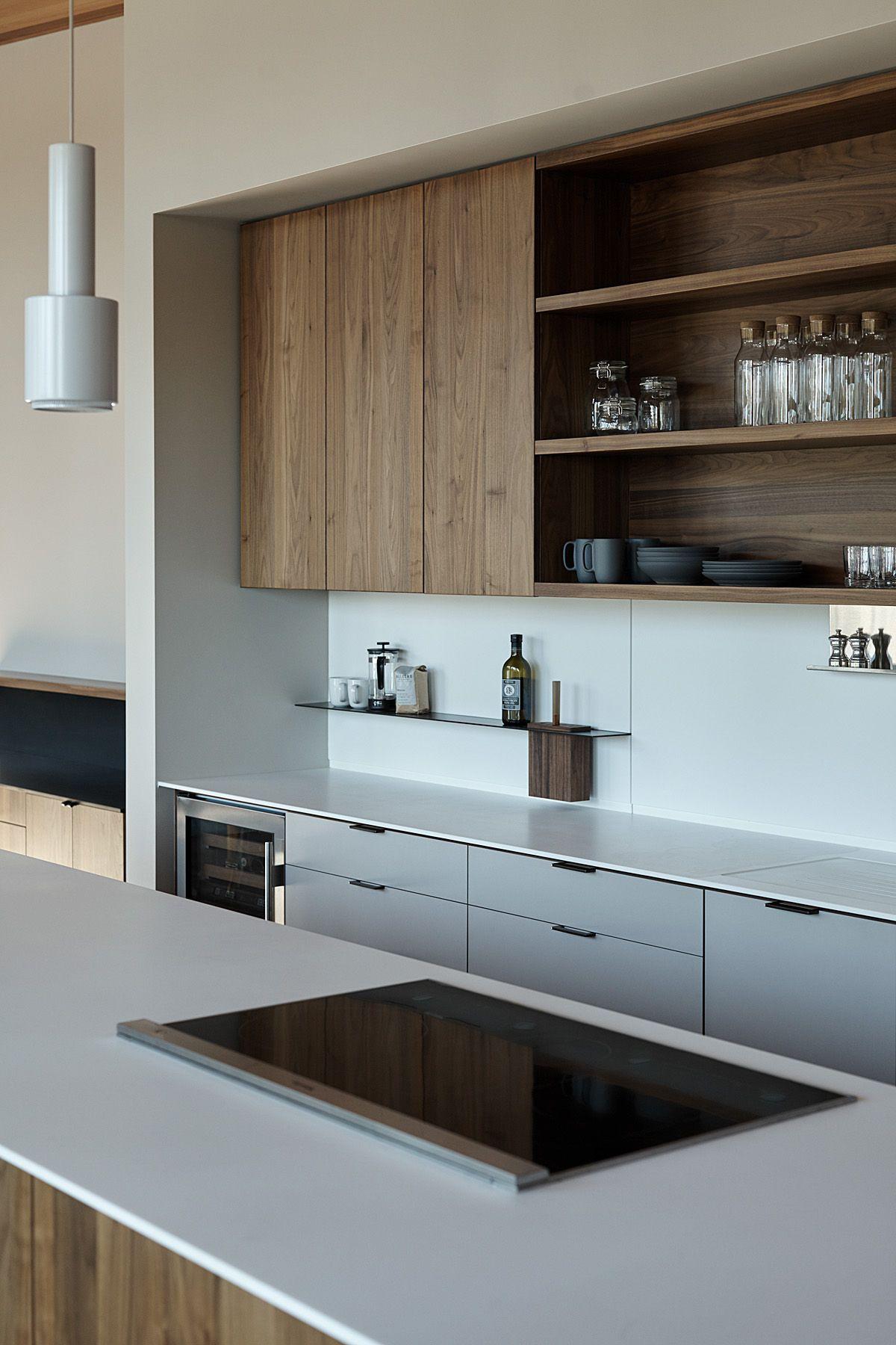 Decoration Cuisine Moderne Blanche image décoration cuisine moderne de sabouille du tableau