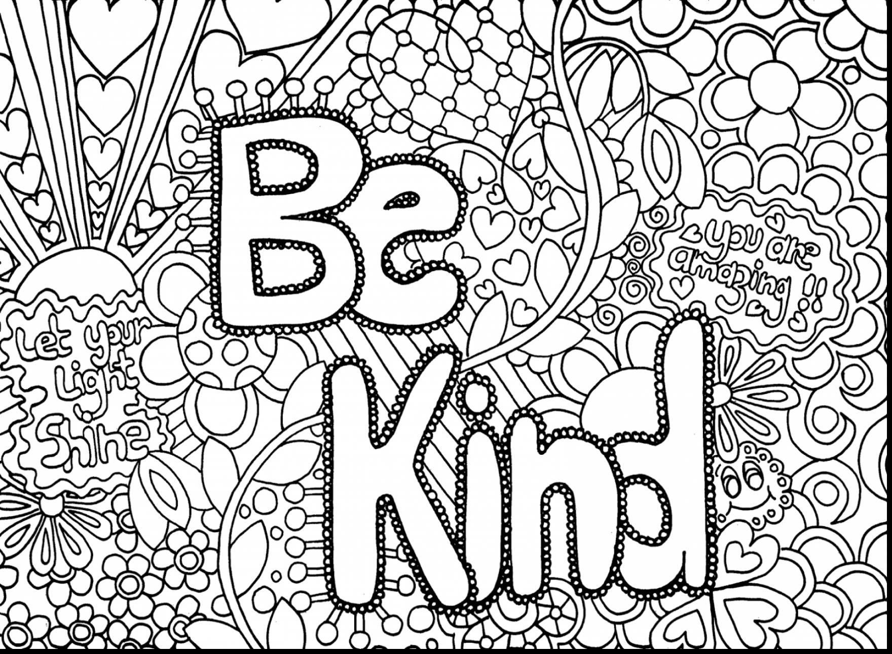 15 Coloring Page For Adults Pdf  Coloring pages for teenagers