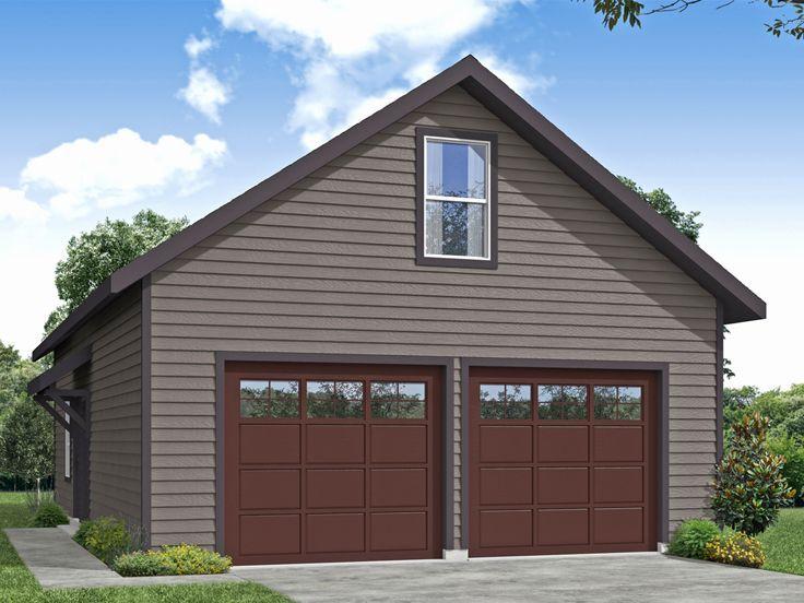 051G0129 TwoCar Garage Plan with in 2020