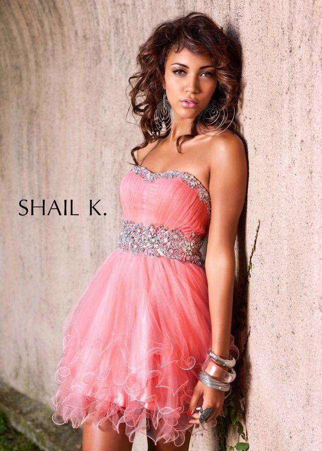 Pink Short Prom Dresses 2015 - Missy Dress