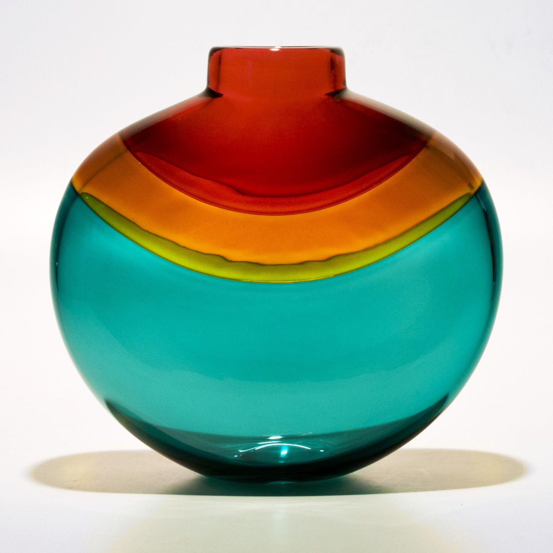 Designer vases nefertiti by michael trimpol glass art nefertiti glass vases reviewsmspy