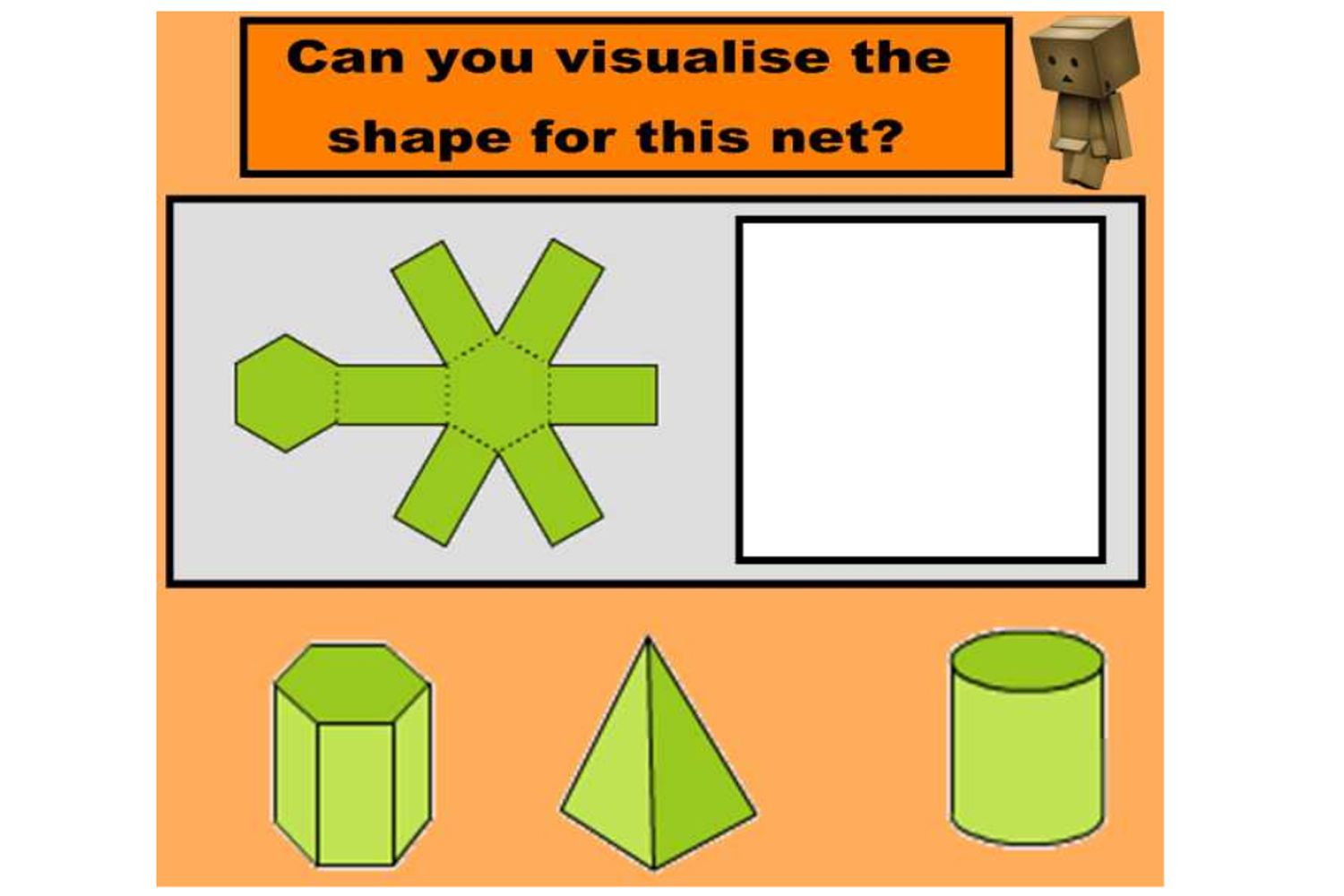 Match 3d Shapes To Their Nets In This Engaging Iwb Lesson