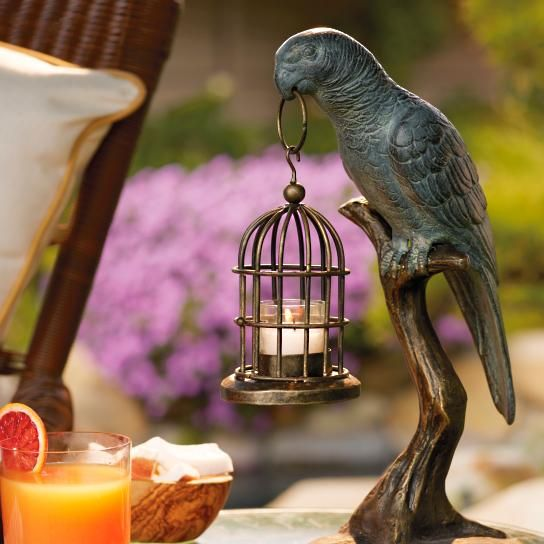 Parrot Candle Holder | @giftryapp