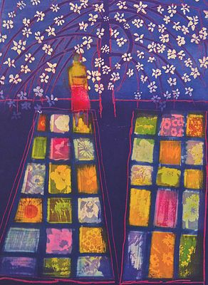 Canopy II  by Tom Hammick (etching with aquatint)  sc 1 st  Pinterest : canopy starters - memphite.com
