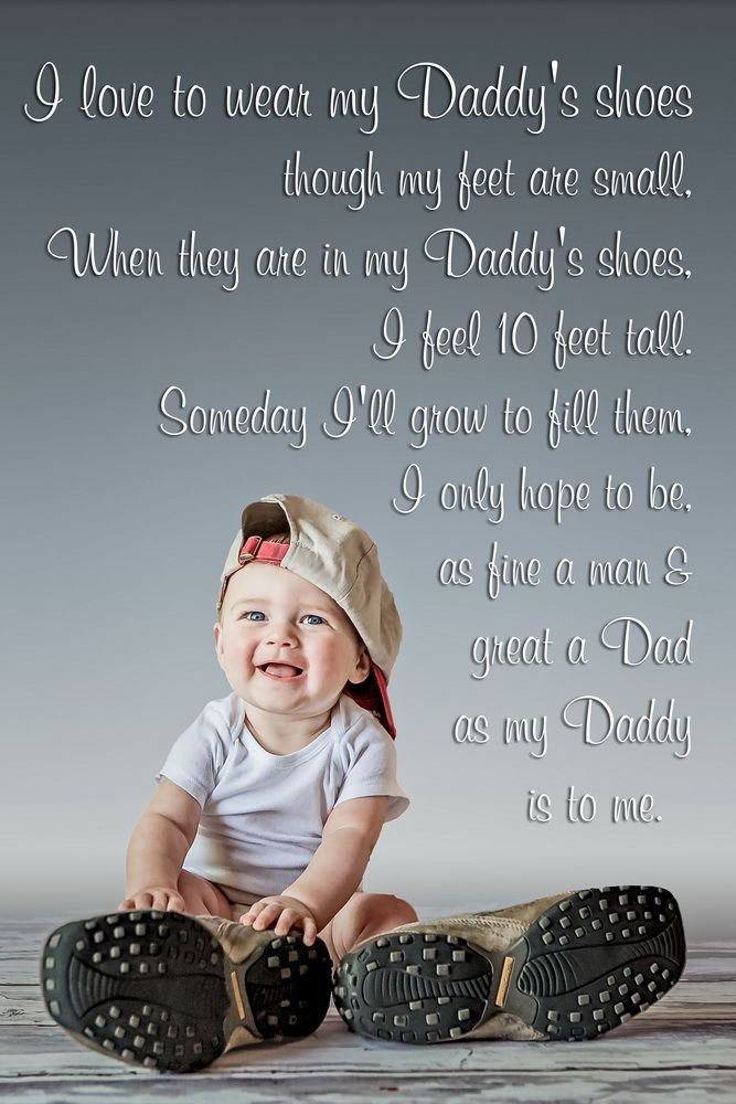 So cute. Matching daddy and baby shoes. Do this after we