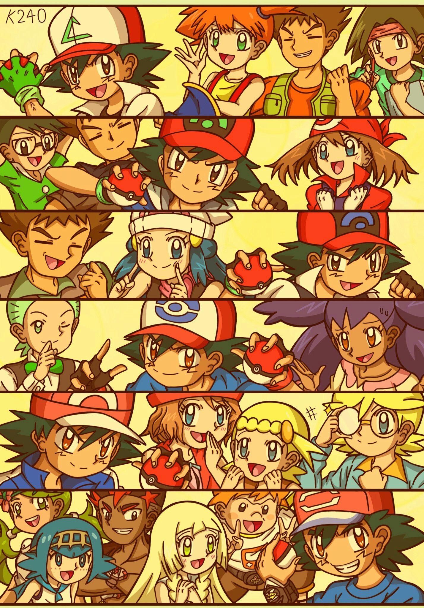 Anime Cast Collection   Pokemon pictures, Pokemon poster, Pokemon alola