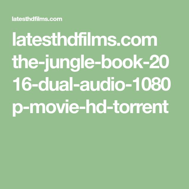 torrent hd movie dual audio