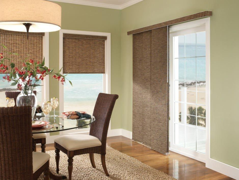 Panel Shades For Sliding Glass Doors Window Shades Pinterest