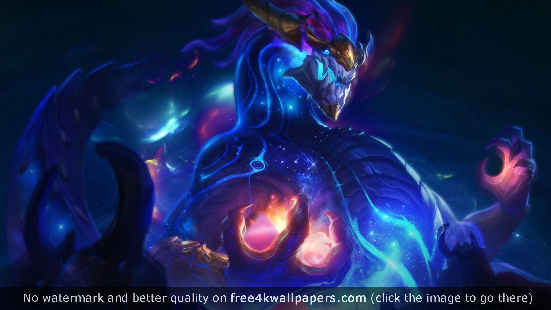 Aurelion Sol League Of Legends 4k Or Hd Wallpaper For Your Pc Mac