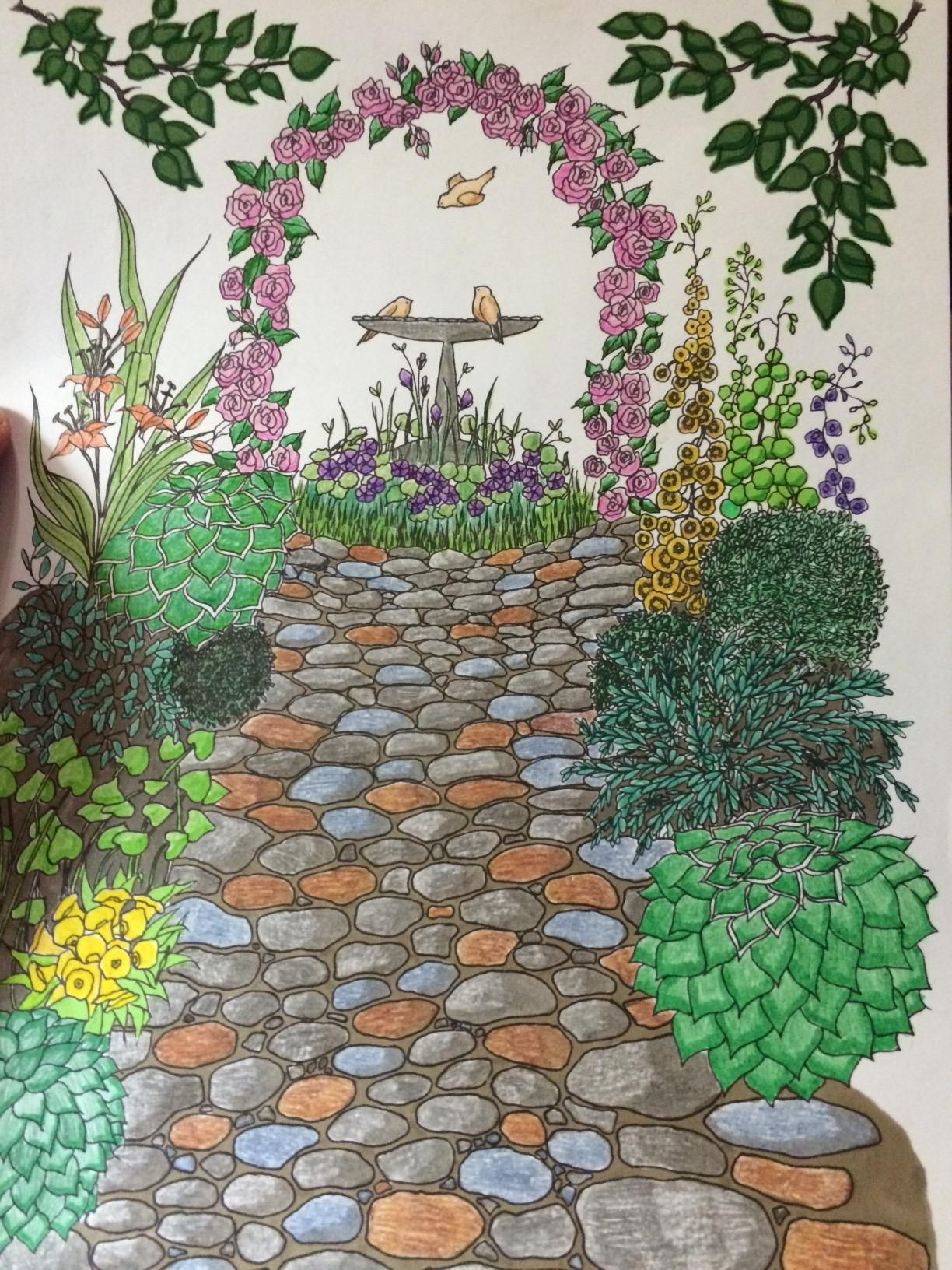 Creative Haven Whimsical Gardens Coloring Book Adult Coloring Alexandra Cowell 9780486 Creative Haven Coloring Books Gardens Coloring Book Whimsical Garden