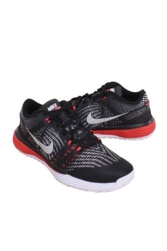b920c99944f3 NEW NIKE MEN BLACK COOL GREY UNIVERSITY RED LUNAR CALDRA 803879-010 SZ 11.5   Clothing