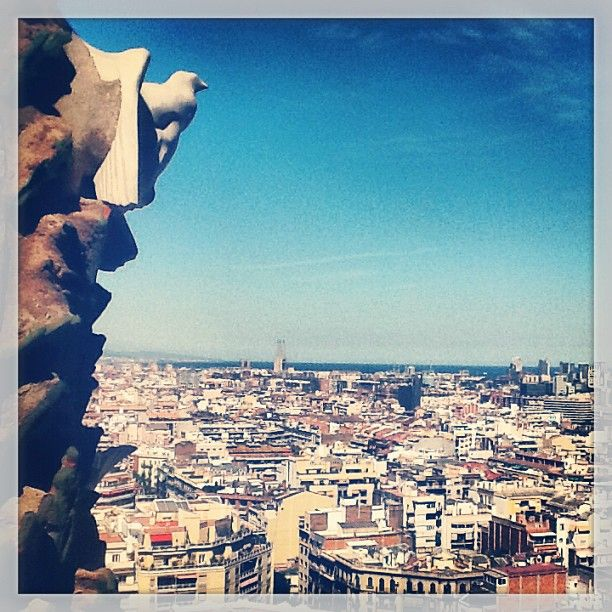 View from La Sagrada Família, Barcelona