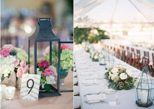 decoración de bodas con faroles www.webnovias/blog | decorando