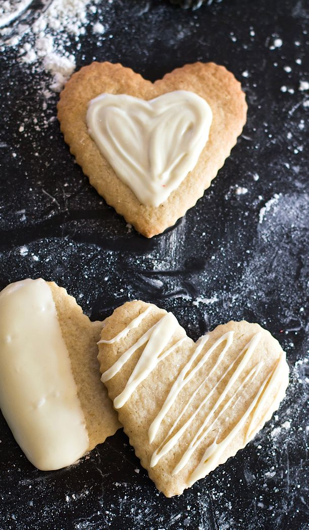 Gluten Free Cut Out Sugar Cookies Made With Almond Flour