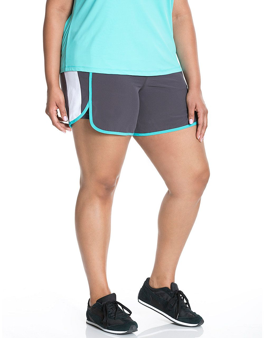 48b56f8bf994e9 Cooling active short by Livi Active | Lane Bryant | Activewear ...