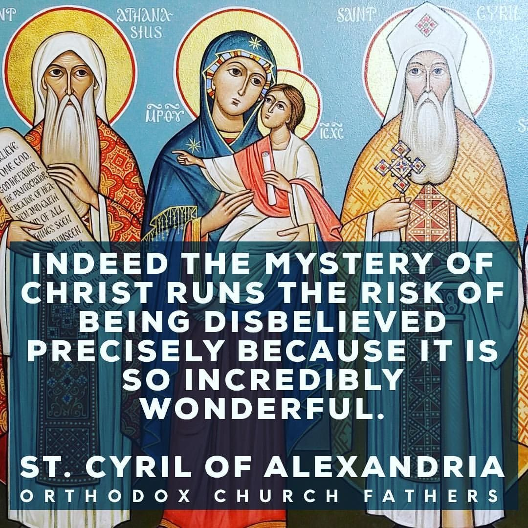 Blessed Feast Day of St. Cyril of Alexandria! #orthodox #orthodoxy ...