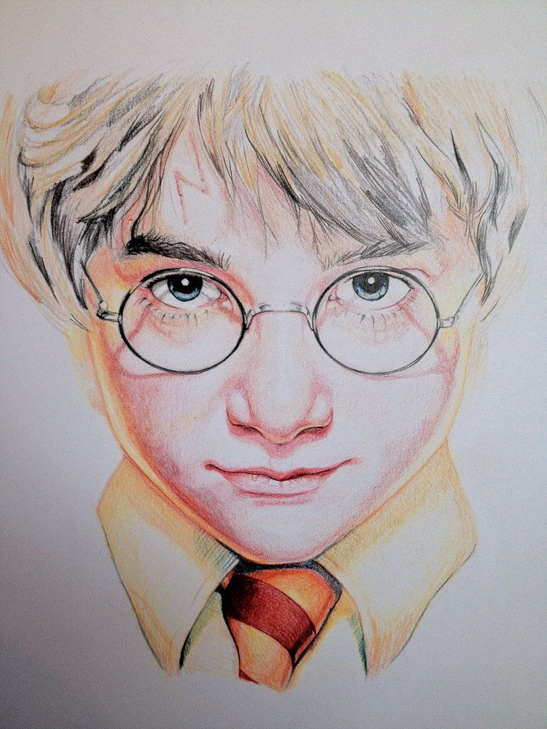Harry potter by sampl3dbeans on deviantart geek art harry potter skiss drawing - Harry potter dessin ...