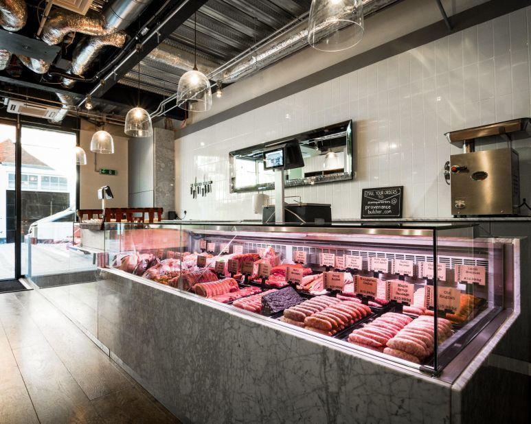 Contemporary Family Butcher Shops Butcher Shop Shop Design