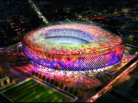 Top Biggest Soccer Stadiums In The World Sports Pinterest - 10 soccer stadiums you need to visit