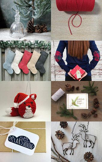 Christmas at Home by Hilda on Etsy--Pinned with TreasuryPin.com