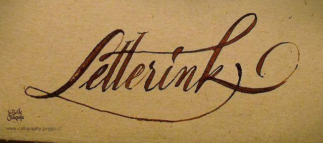 Letterink - La Belle Caligrafie - by PeGGO