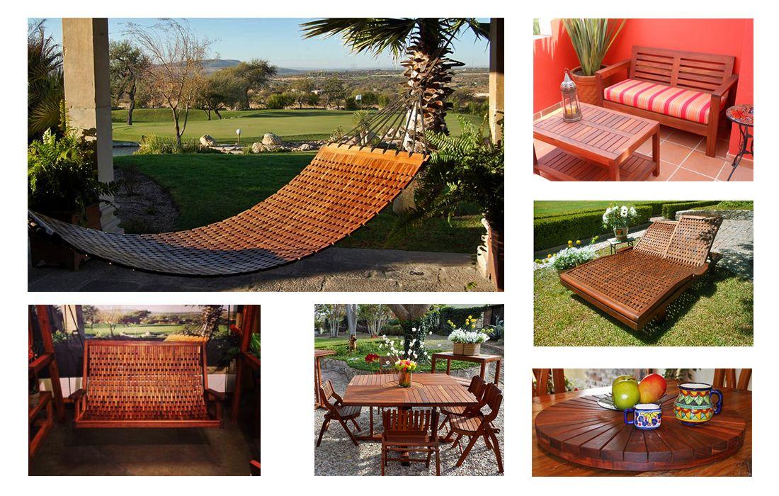 Ideas para el jardín. Muebles para jardín, hecho a mano, hecho en ...