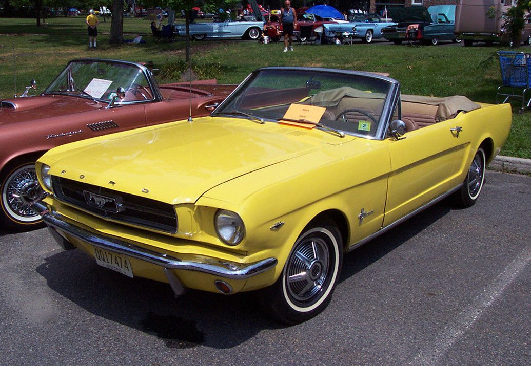 1960 Cars Photo Picture 1 Classic Cars 1960s Ford Mustang