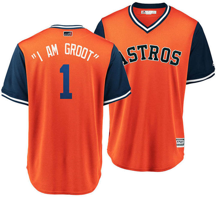 big sale 6ca19 ab02b Majestic Men's Carlos Correa Houston Astros Players Weekend ...