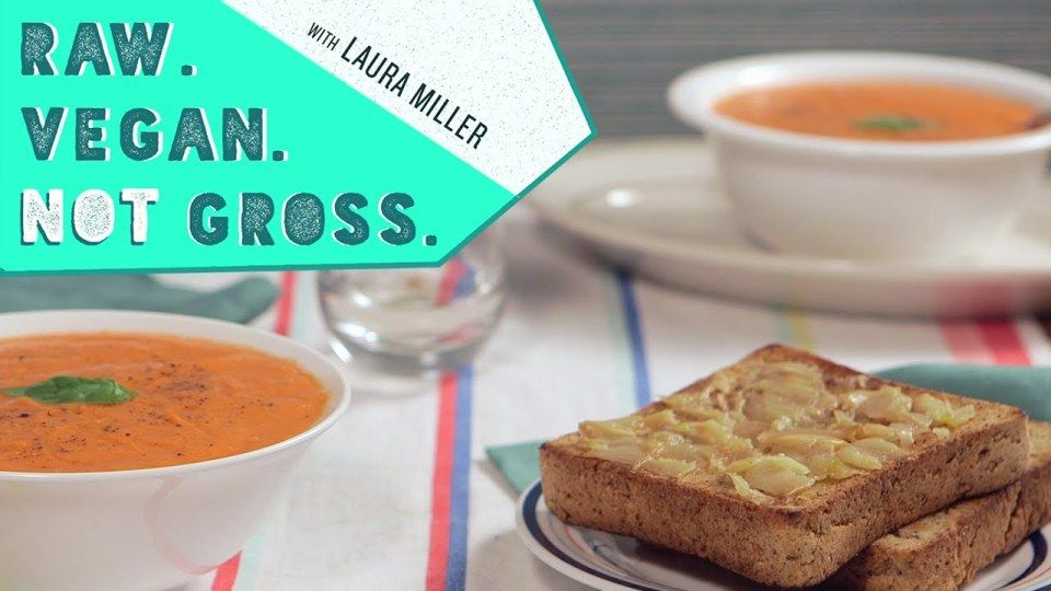 This season we're turnin' up the heat! Literally, as in we're cooking stuff. So in this episode, we're making a delicious oven roasted tomato soup.