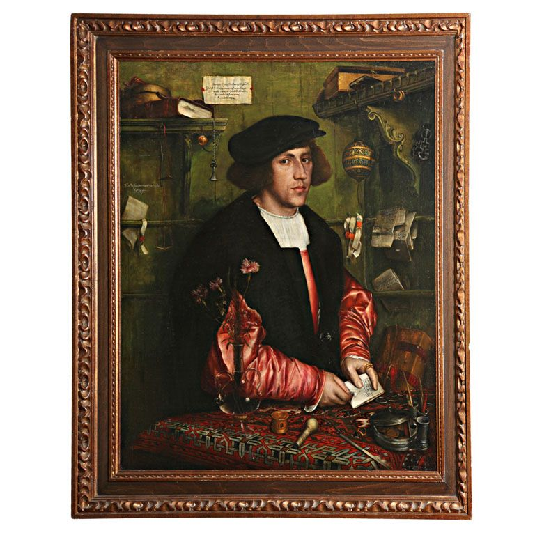 Oil painting after Hans Holbein, c.1890 - http://bit.ly/1DoAHvo