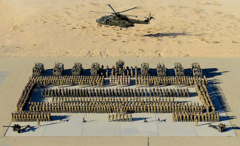 Royal Marines In Exercise Black Alligator