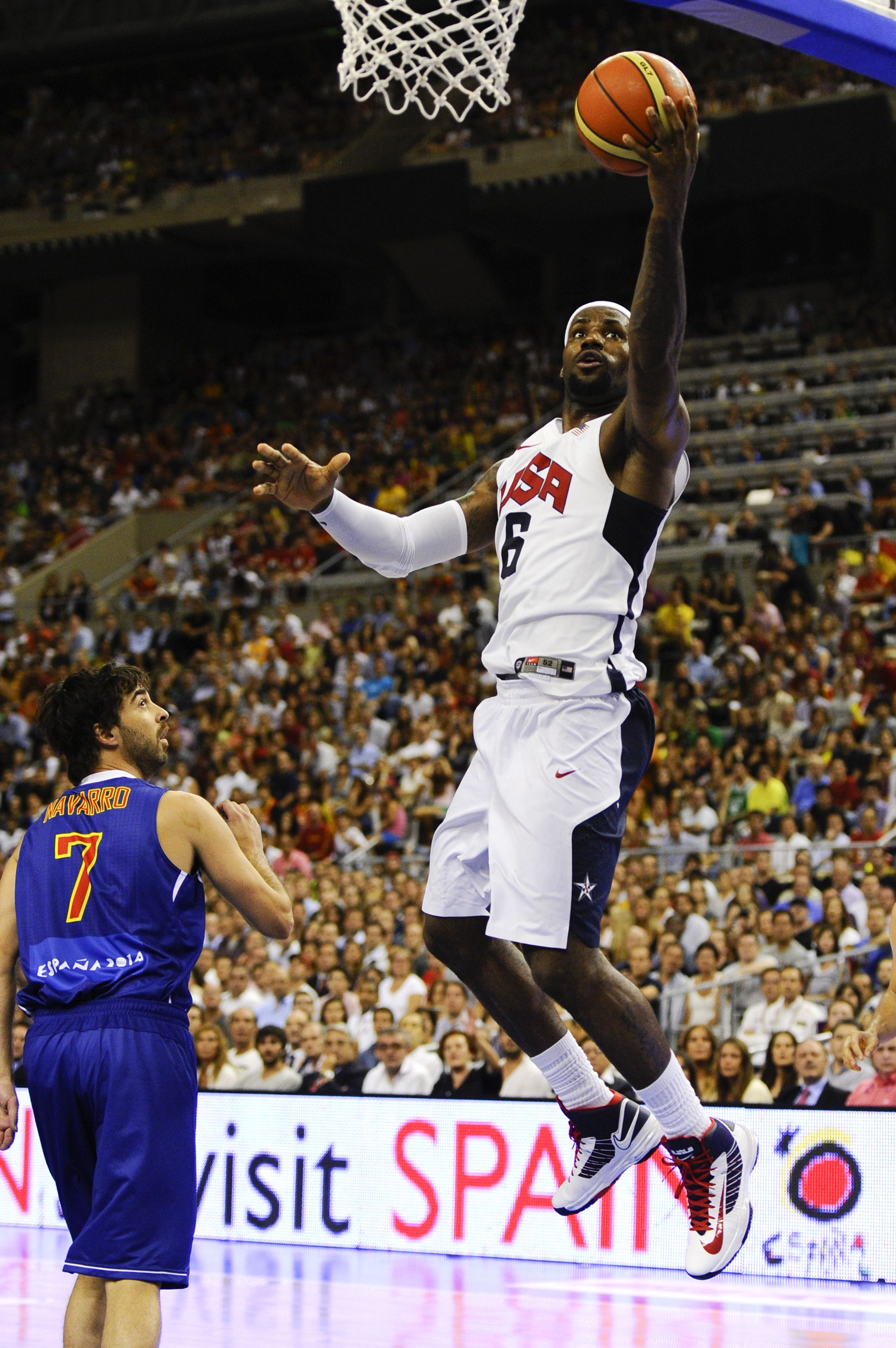 Usa Basketball Lebron James In The Nike Hyperdunk Photo By David Ramos Getty Images