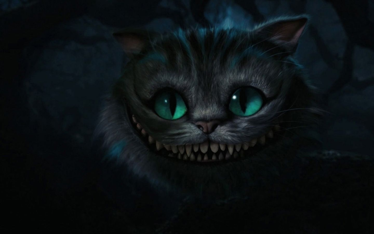 Alice In Wonderland Artwork Tim Burton Cheshire Cat 1920x1080