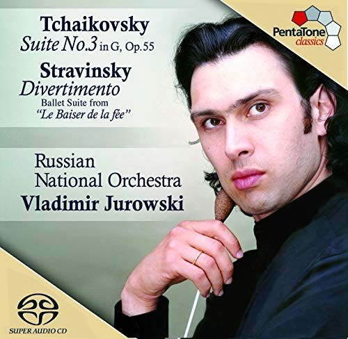 Tchaikovsky Suite No 3 Op 55  Stravinsky Divertimento from The Fairys Kiss