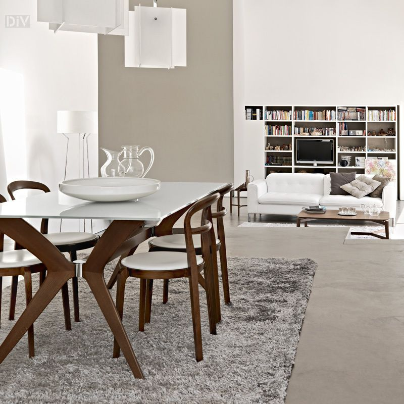 Dining Tables Calligaris Tokyo Dining Table Contemporary Dining