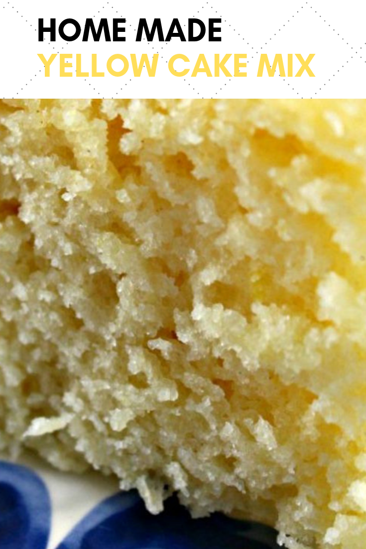 Home Made Yellow Cake Mix -   7 home made cake Recipes ideas