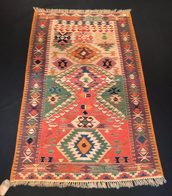 4u0027 x 6u00272u0027u0027 (122 cm x 188 cm), Konya Nuzumla Kilim, Central - teppich für küche