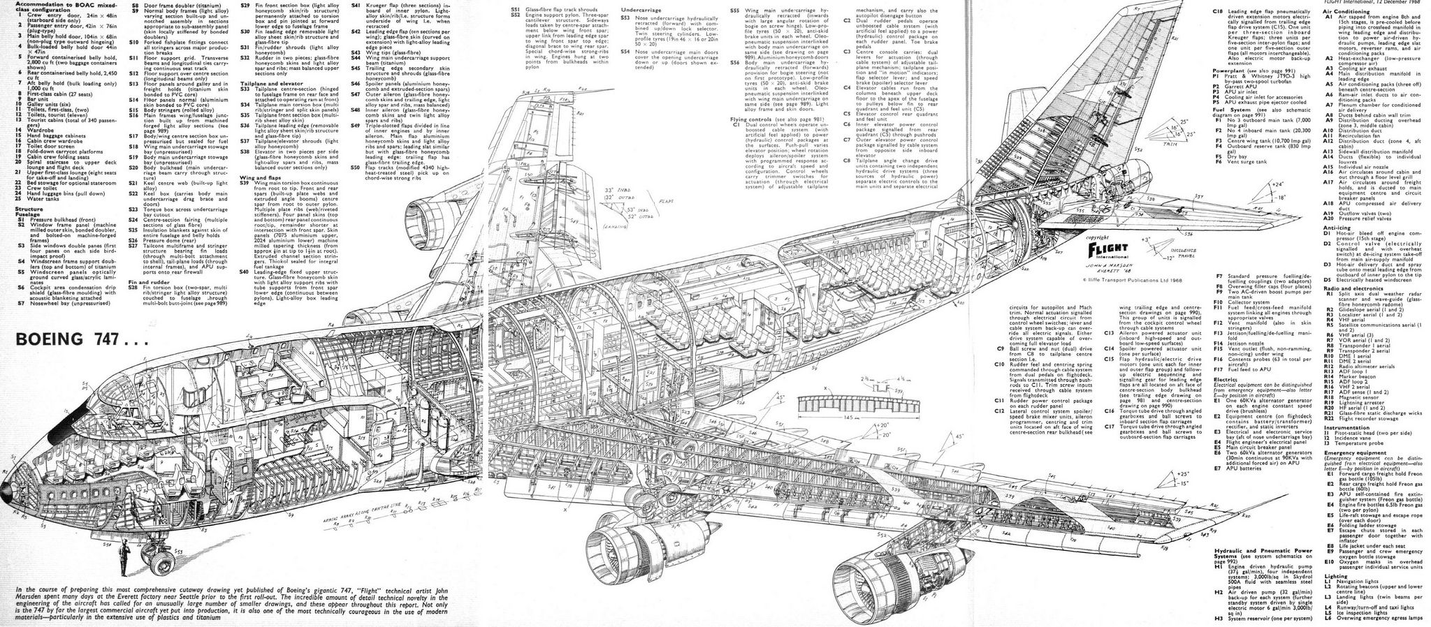 747 In Cutaway | Aerospace cutaways and diagrams | Pinterest ...