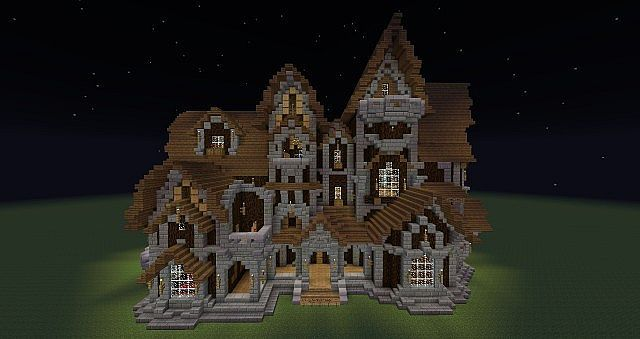Haunted Mansion Minecraft Map