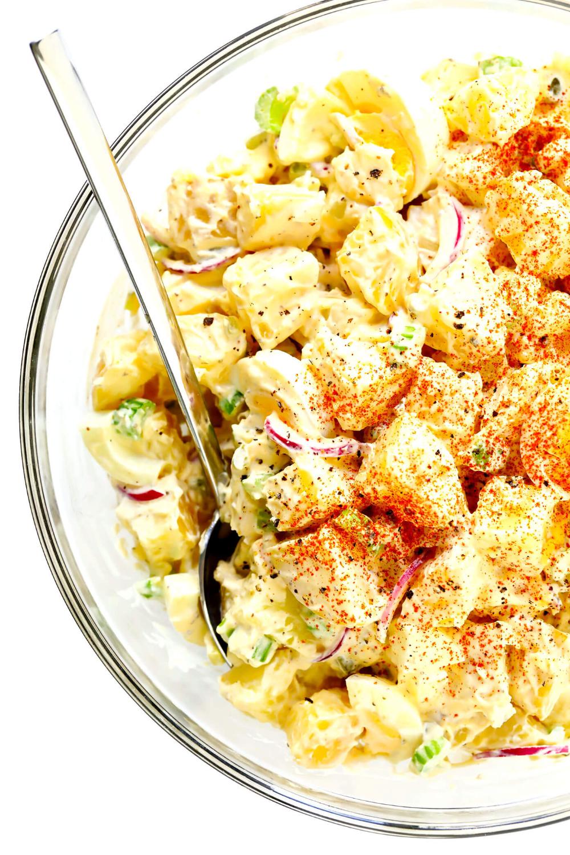 The Best Potato Salad Recipe Gimme Some Oven Recipe In 2020 Potatoe Salad Recipe Best Potato Salad Recipe Potato Salad